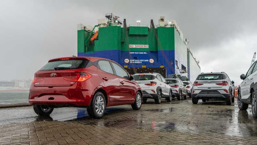 Hyundai HB20 começa a ser exportado para a Colômbia