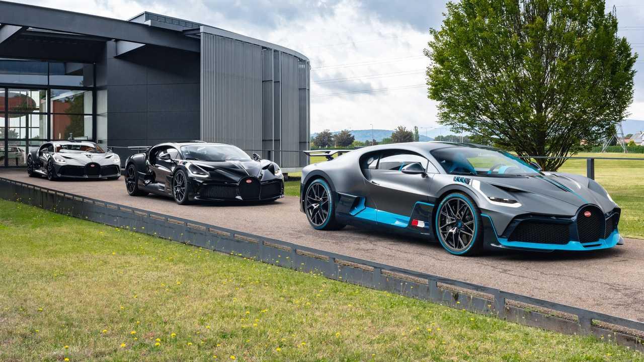 Bugatti Divo Anteriore 3/4