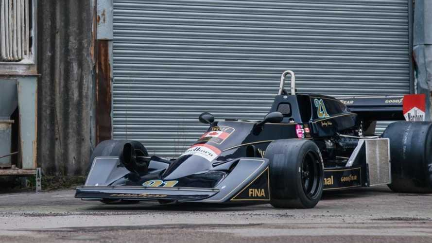Jacky Ickx's 1976 Wolf-Williams Formula 1 machine on sale
