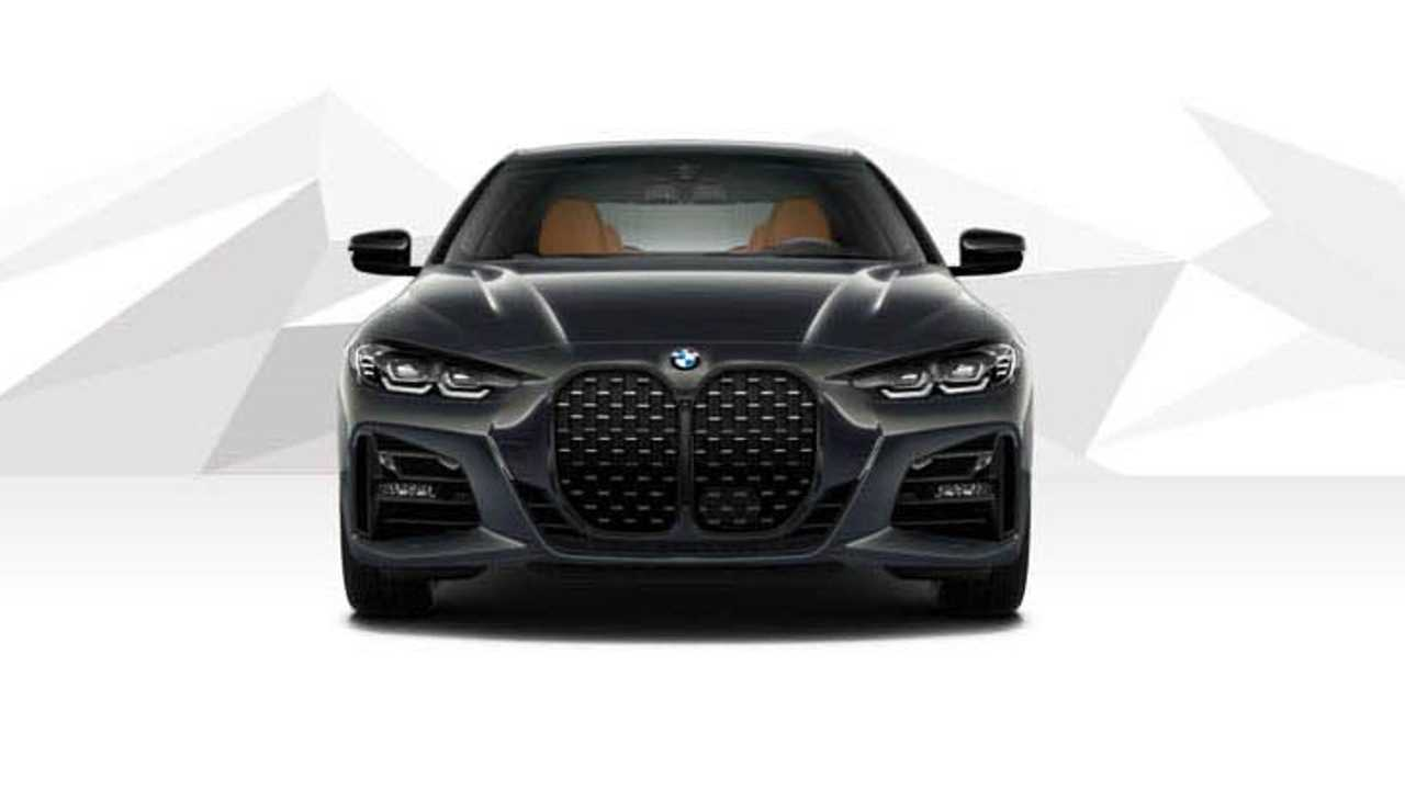 2021 BMW 4 Series Coupe rendering