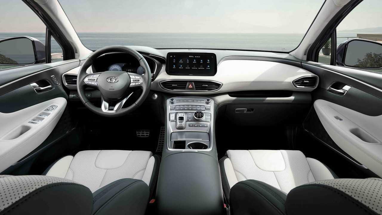 Novo Hyundai Santa Fe 2021 Tera 2 5 Turbo E Versoes Hibridas