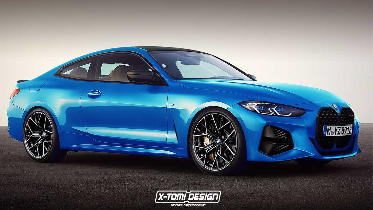 BMW M4 rendering