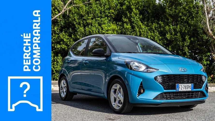 Hyundai i10, perché comprarla e perché no