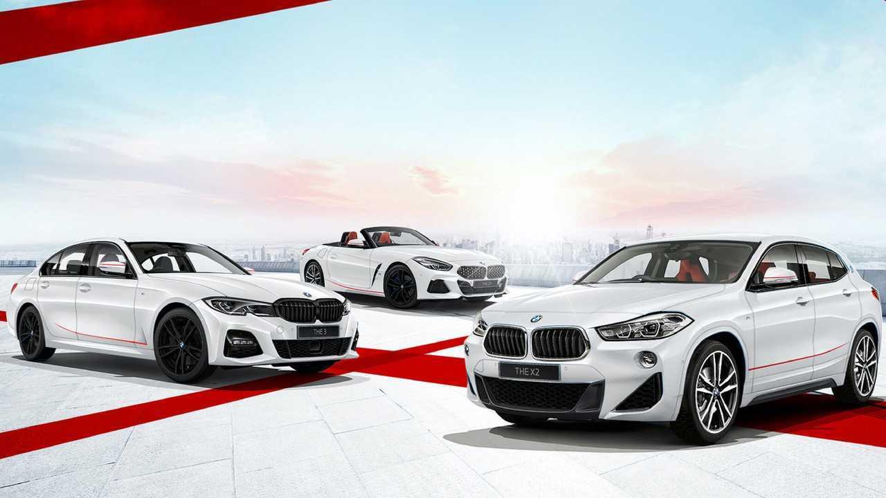 BMW Sunrise Edition Of X2, 3 Series, Z4