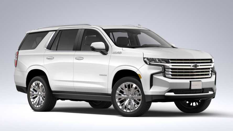 2021 Chevrolet Tahoe Most Expensive