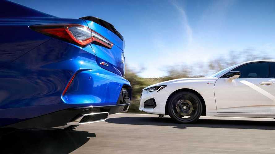 Спортседан Acura TLX нового поколения (2020)