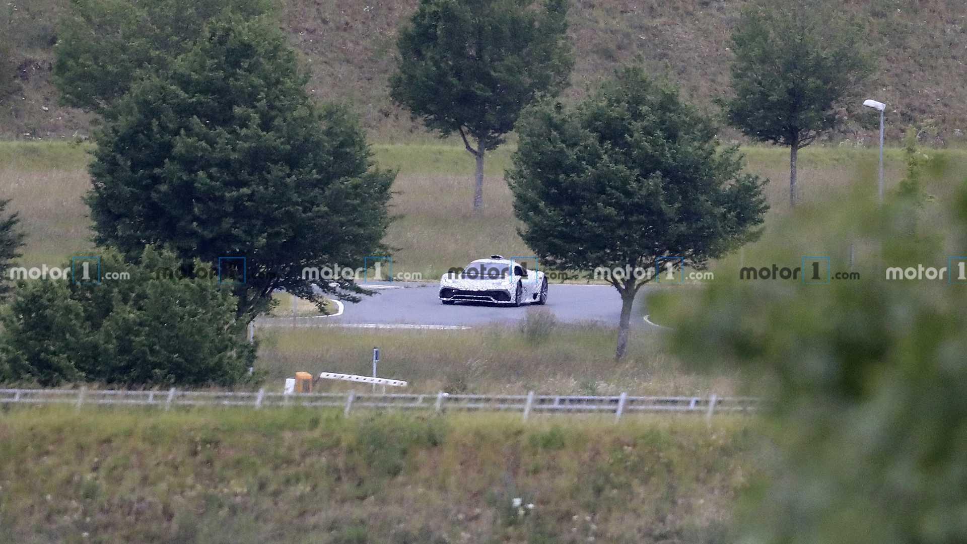 Mercedes-AMG One, nuevas fotos espía