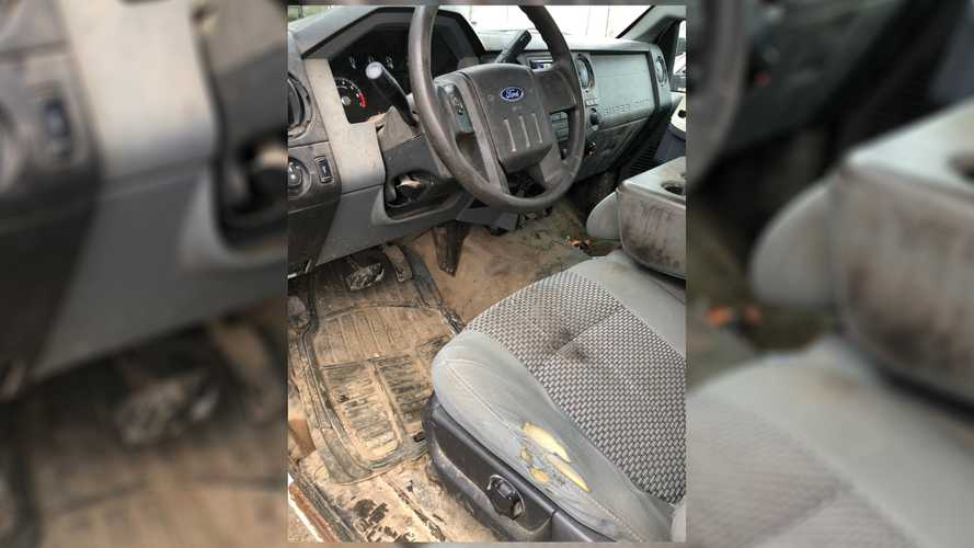 Watch Dirtiest Ford F-250 We've Ever Seen Go From Filthy To Fine