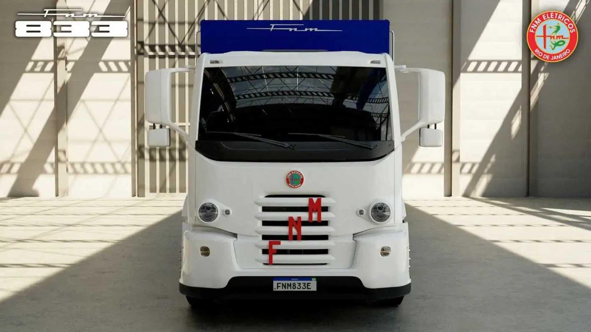 FNM - caminhão elétrico - 3