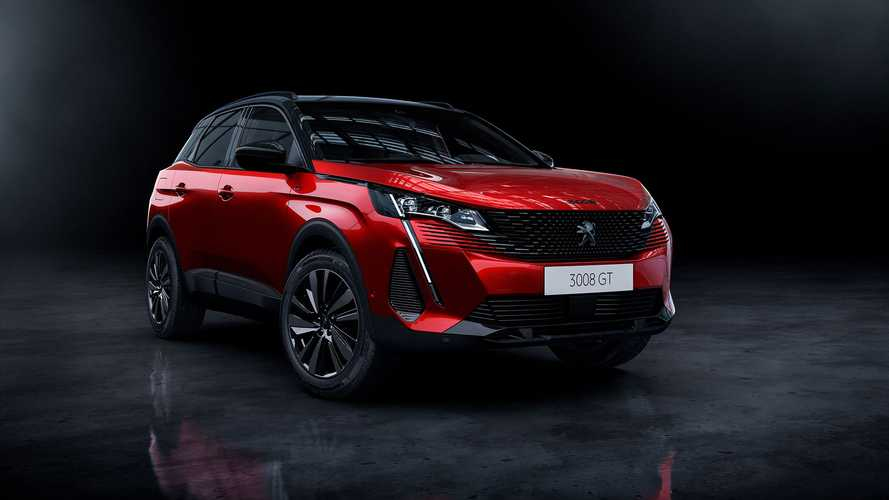 2021 Peugeot 3008 revealed with bold face and up to 300 bhp