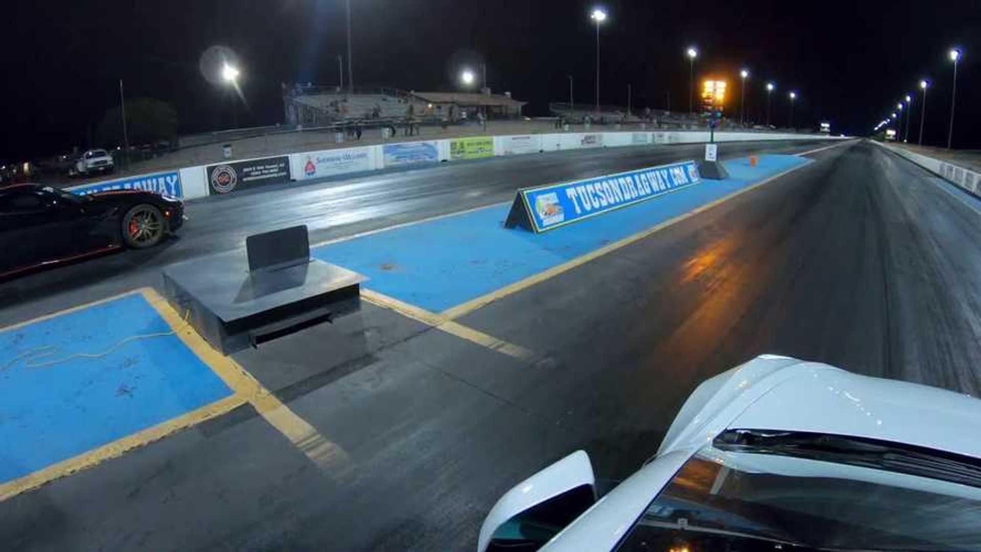 Watch Tesla Model 3 Performance Drag Race Modified Chevy ...