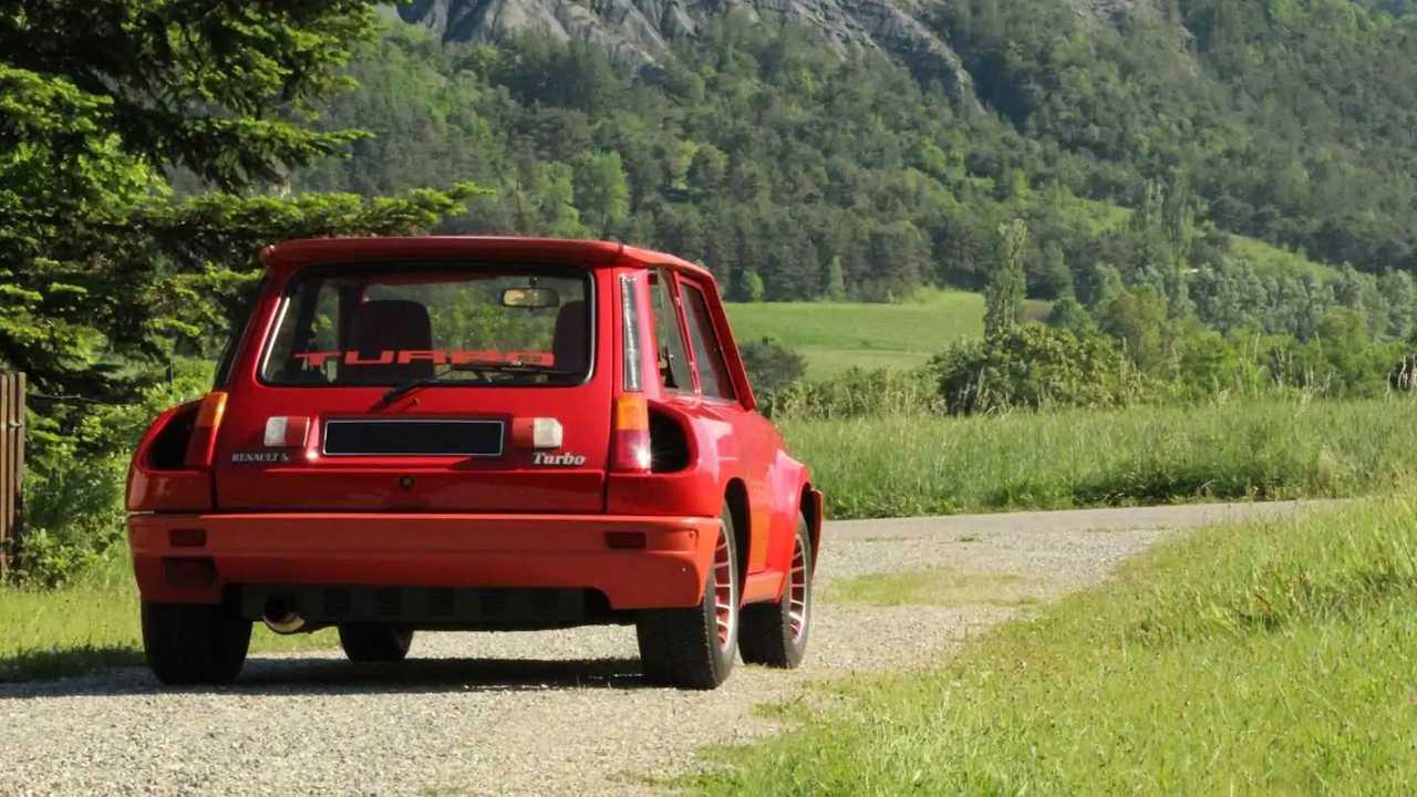 Renault 5 Turbo 1980 en subasta de Artcurial