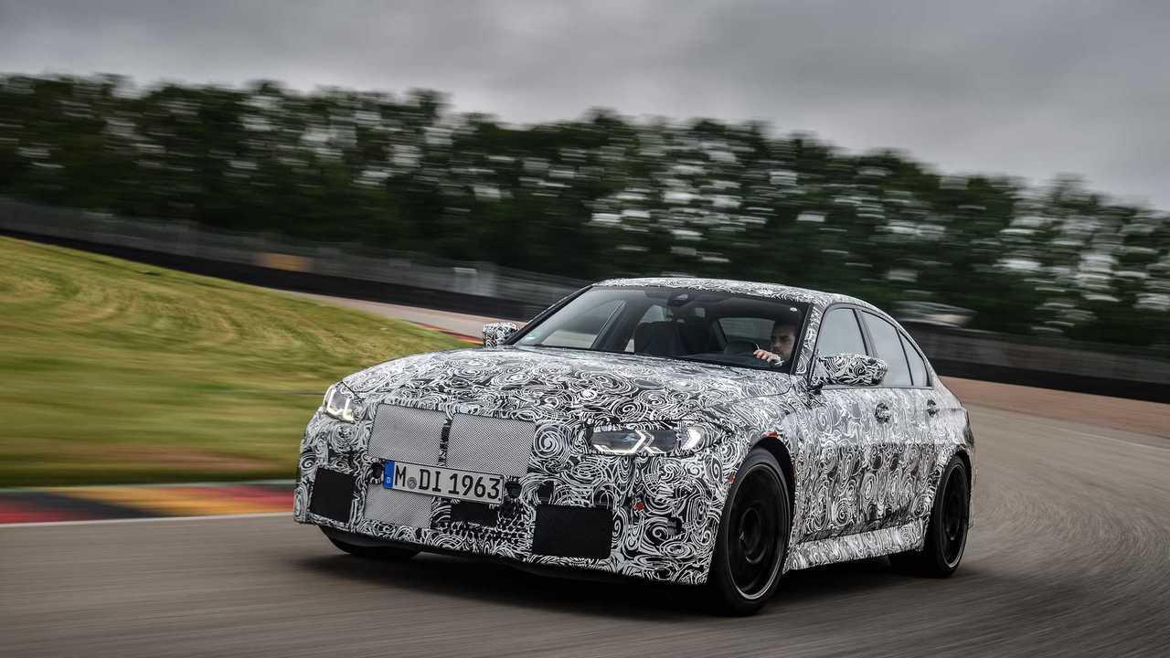 Novos BMW M3 e BMW M4 2021 - Teasers