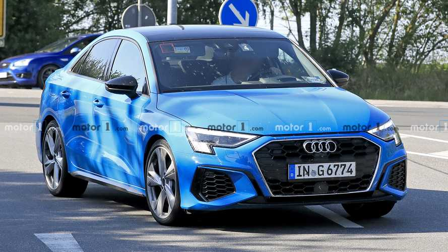 Audi S3 Sportback and S3 Saloon spy photos