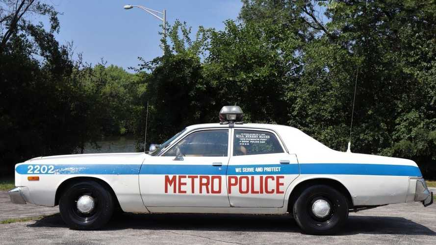 Classics for sale: 1973 Plymouth Fury police car