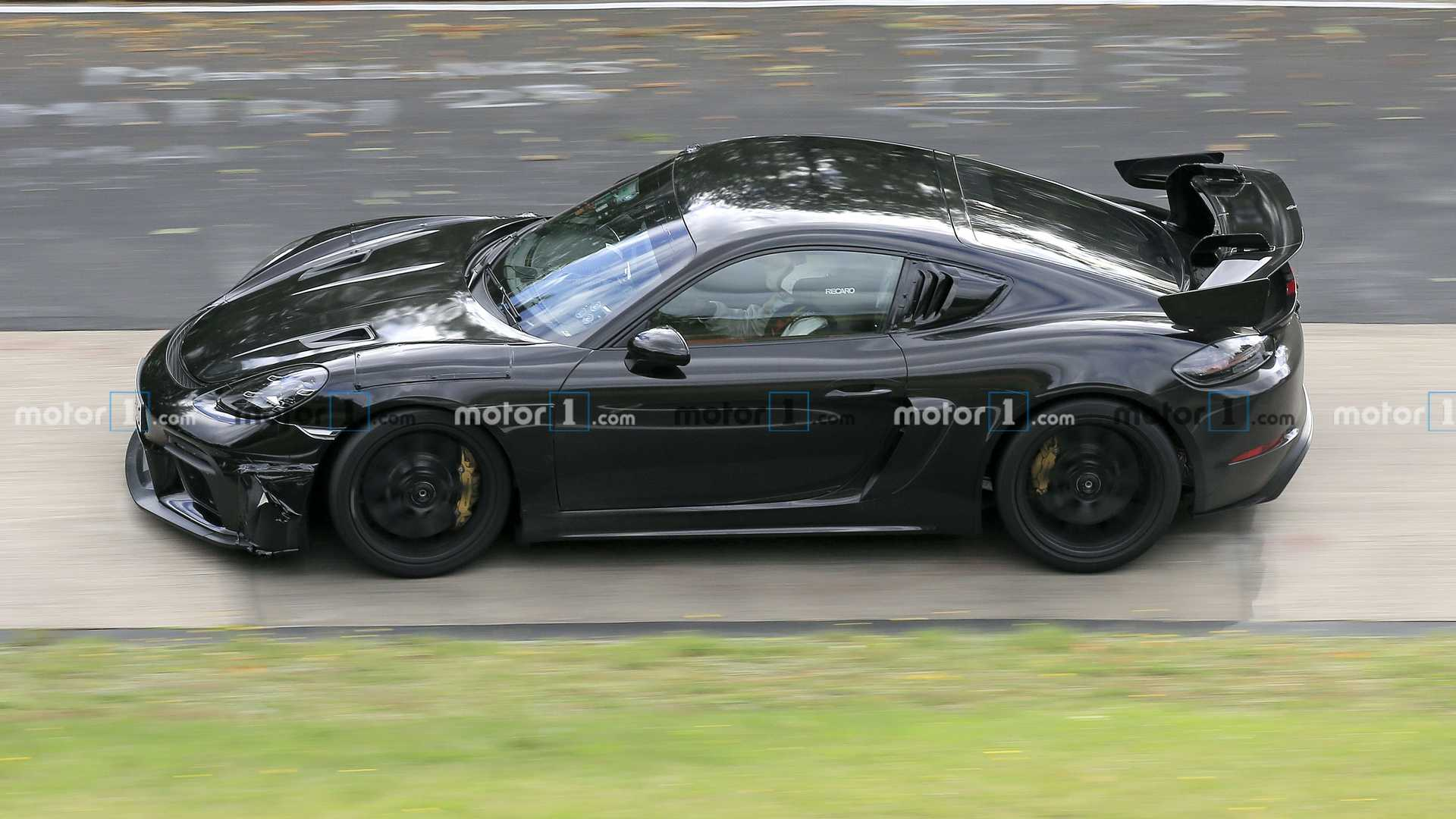 Porsche Cayman GT4 RS Spied On Video Sounding Like A 'Ring King