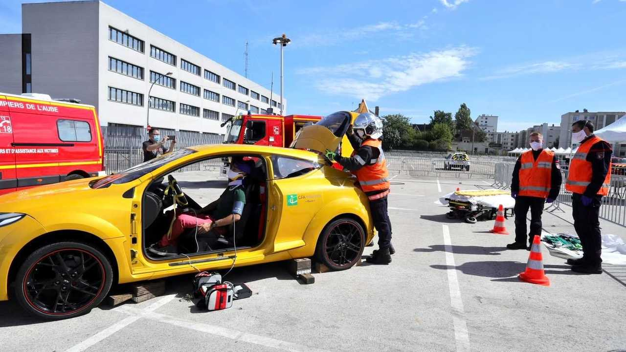 Renault Mégane 3 R.S. des pompiers