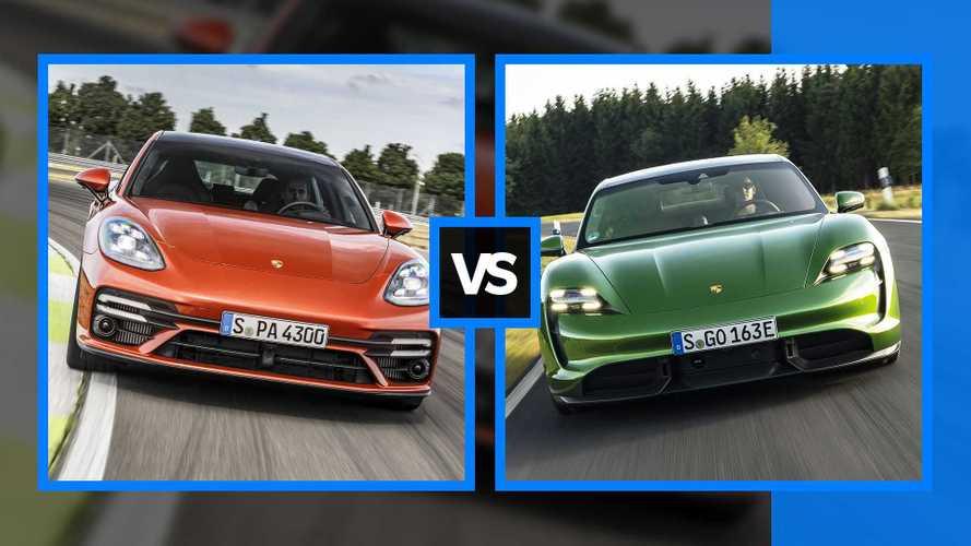 Porsche Panamera vs Taycan, due modi di fare la berlina sportiva