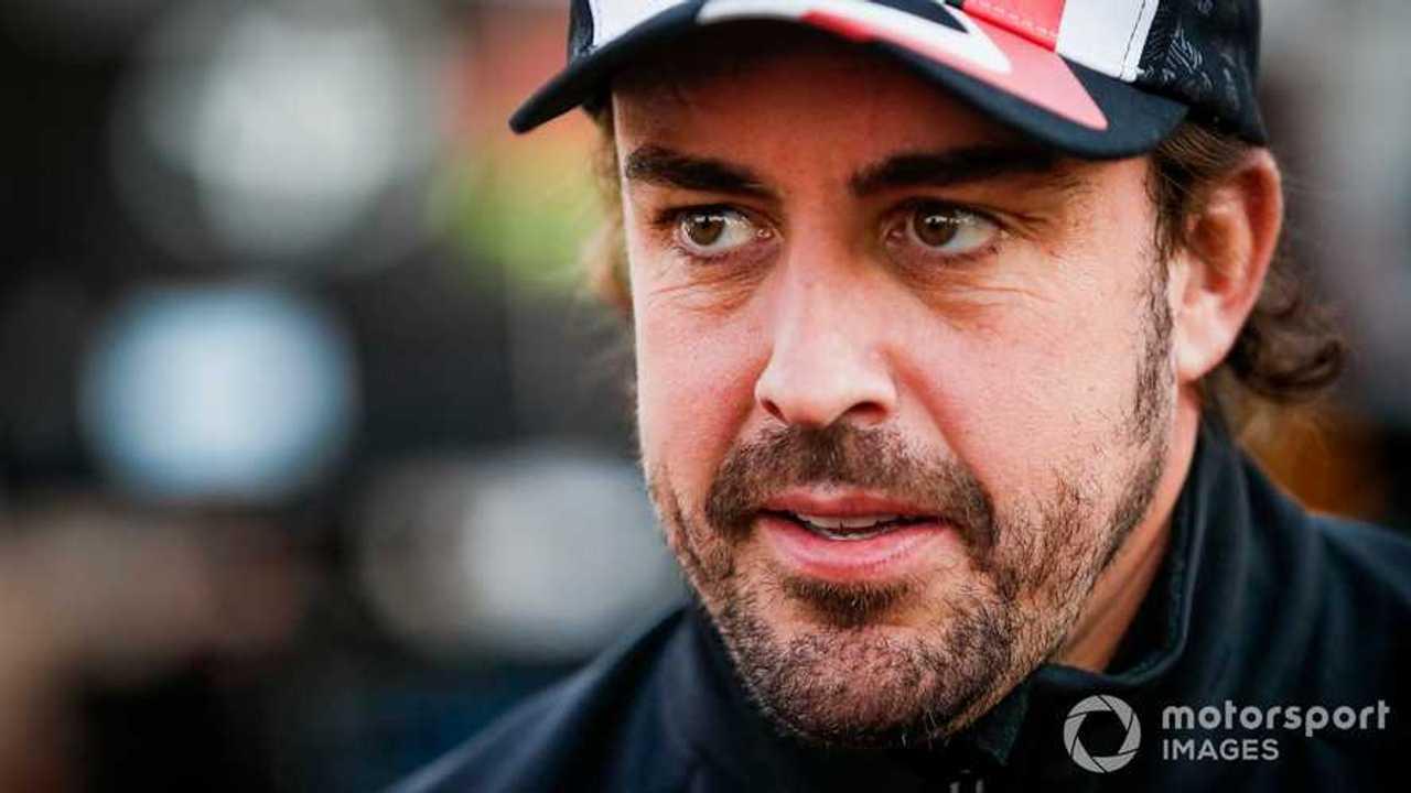 Fernando Alonso at Dakar 2020
