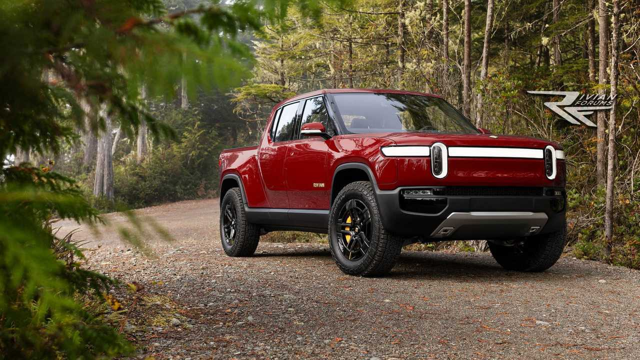 Check Out The Possible Rivian R1T Production Colors Revealed By RivianForums.com