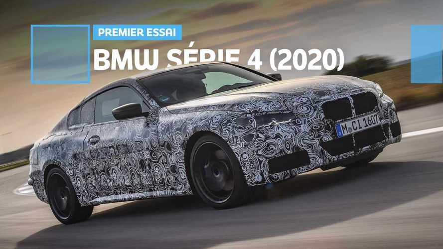 Prise en main de la nouvelle BMW Série 4 (2020)