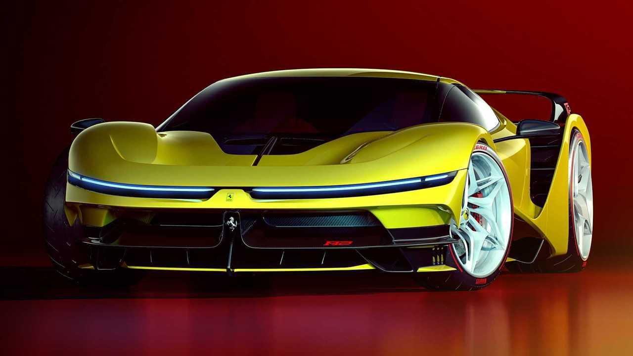 Ferrari F42 renderelés