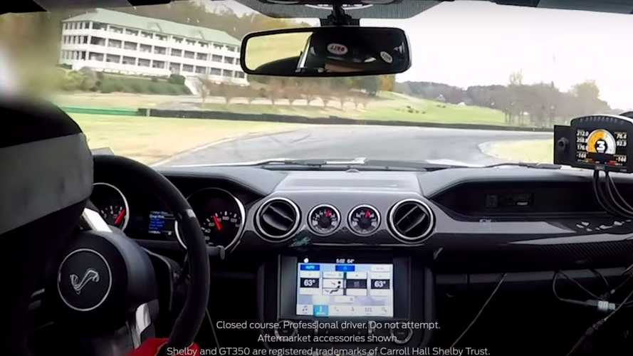 Watch Ford Hot Lap A Shelby GT350 The Way It Was Meant To Be Driven