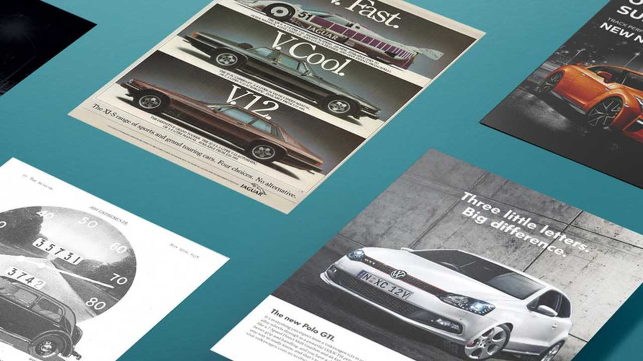 The changing face of car advertising