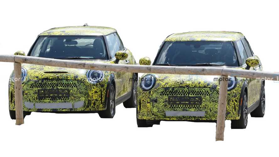 Mini Hardtop refresh spy shots