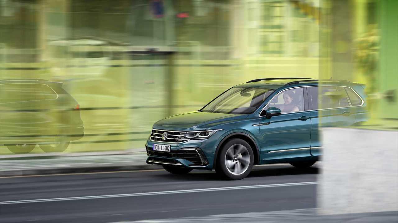 Novo Volkswagen Tiguan 2021 Muda Visual E Ganha Versao Esportiva Com 320 Cv