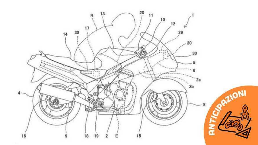 Kawasaki brevetta la tecnologia che prevede i pericoli in moto