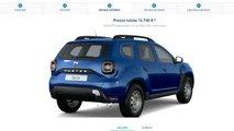 Dacia Duster, Come Configurarla