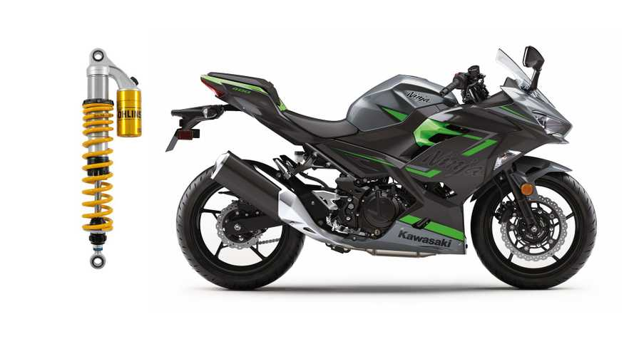 Upgrade Your Kawasaki Ninja 400 With Öhlins