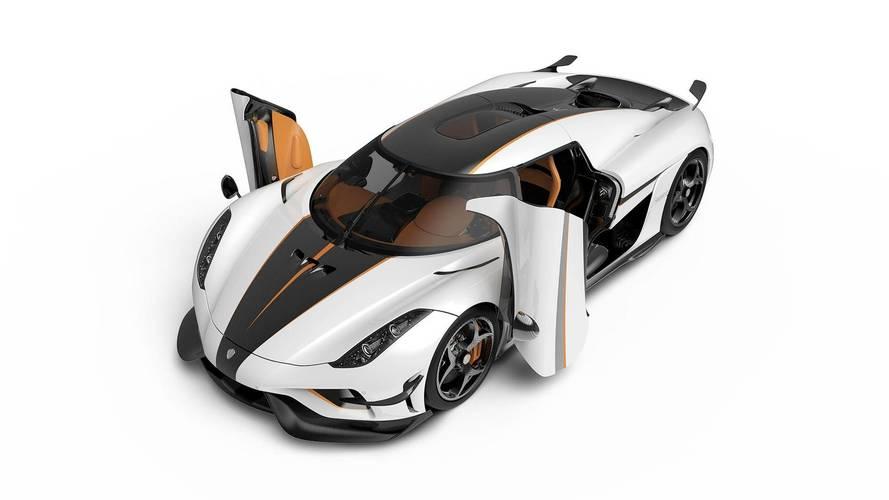 Cenevre Otomobil Fuarı'nda sergilenen Koenigsegg Regera'lar