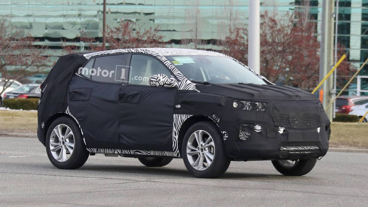 Buick Encore Spy Photo