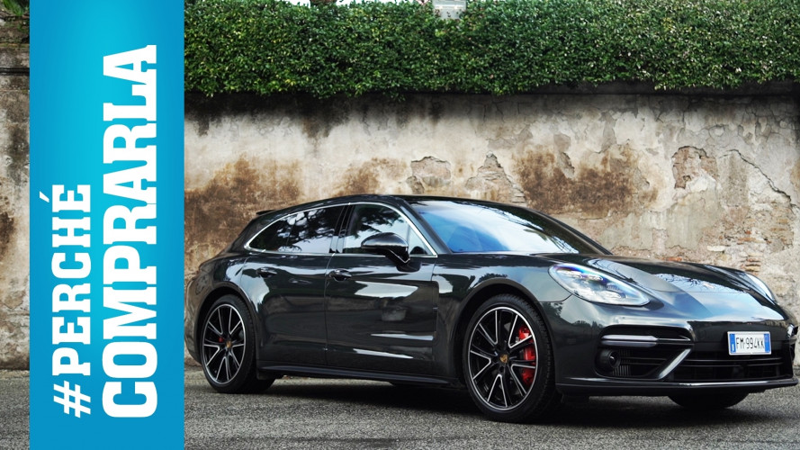 Porsche Panamera Turbo Sport Turismo, perché comprarla... e perché no