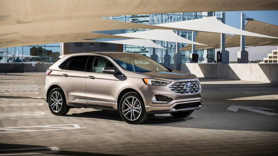 2018 Ford Edge Titanium Elite