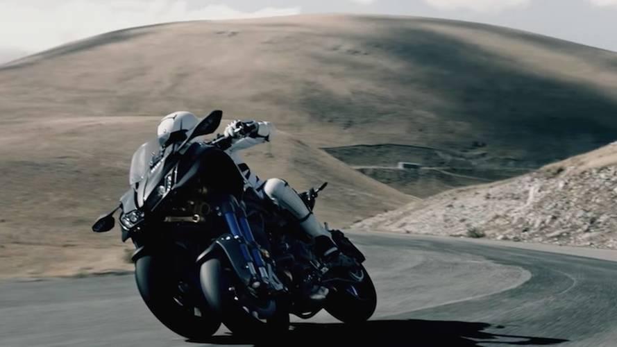 Stability Meets Accuracy - Yamaha Niken 3-Wheeler Shows Off