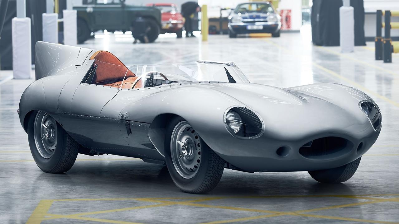 [Copertina] - Jaguar D-Type, torna un mito ed è nuovo di fabbrica