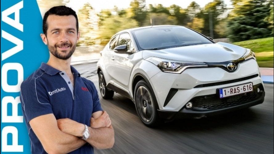 Toyota C-HR, il SUV compatto che si fa notare [VIDEO]