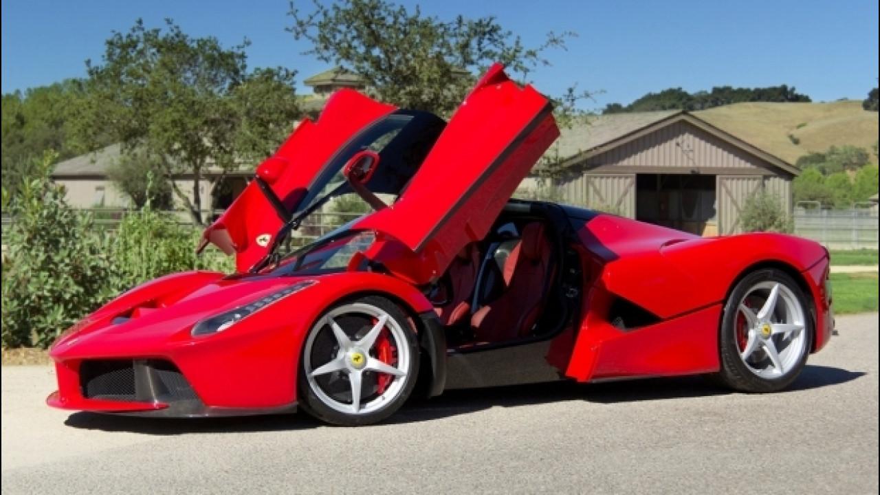 [Copertina] - Ferrari LaFerrari, all'asta per 7 milioni di dollari l'esemplare 500