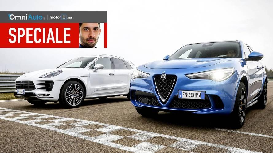 Stelvio vs Macan, l'Italia-Germania dei SUV!