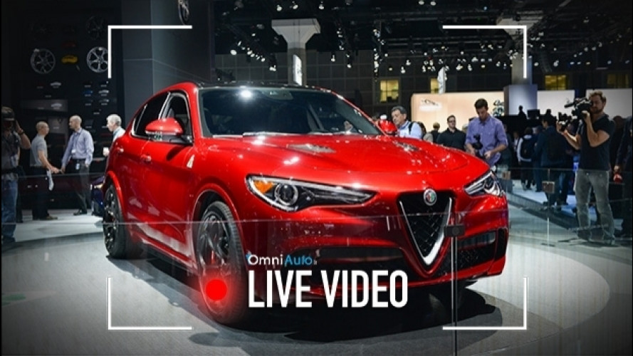 Alfa Romeo Stelvio, com'è vista dal vivo a Los Angeles [VIDEO]