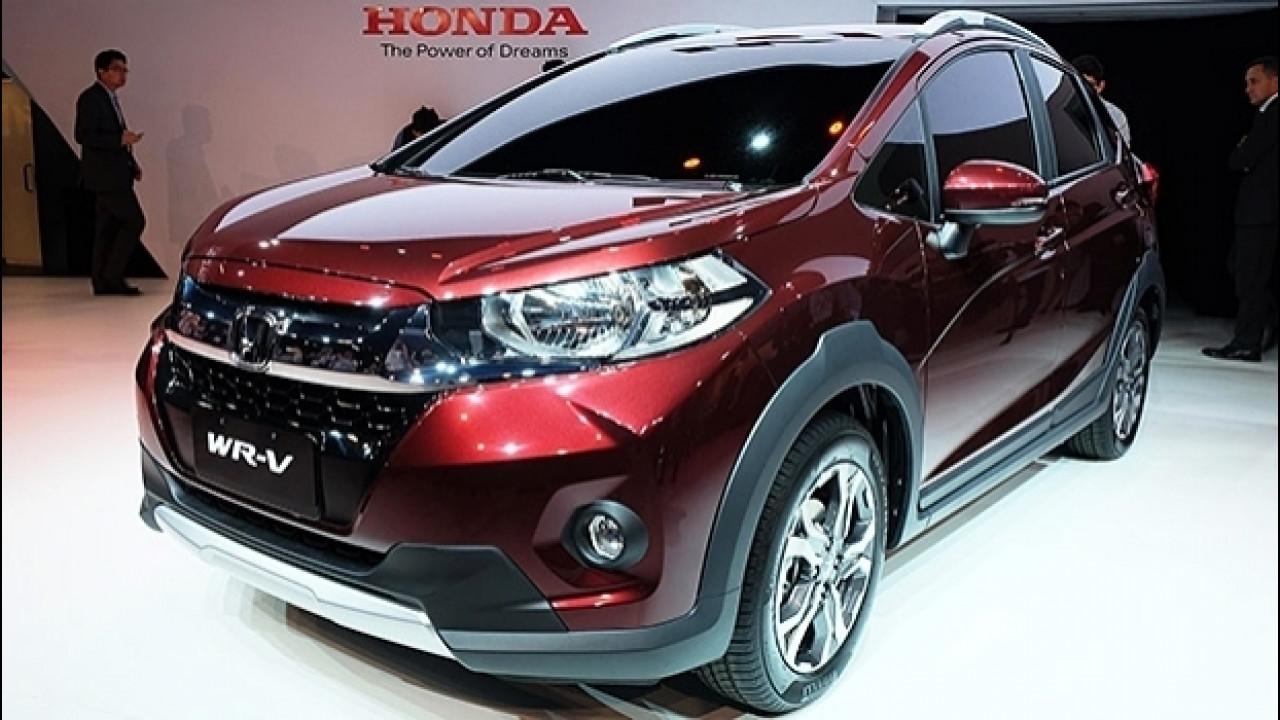 [Copertina] - Honda WR-V, il crossover stiloso per il Sud America