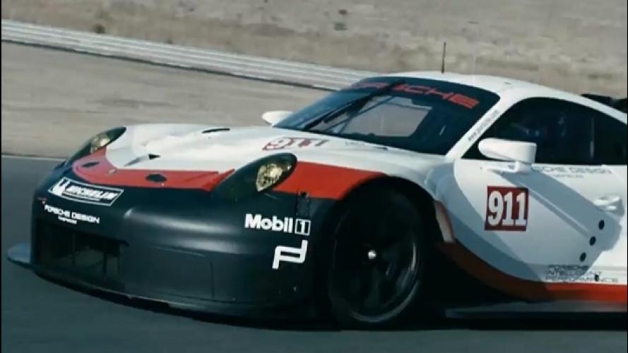 Nuova Porsche 911 RSR, a Los Angeles col motore centrale?