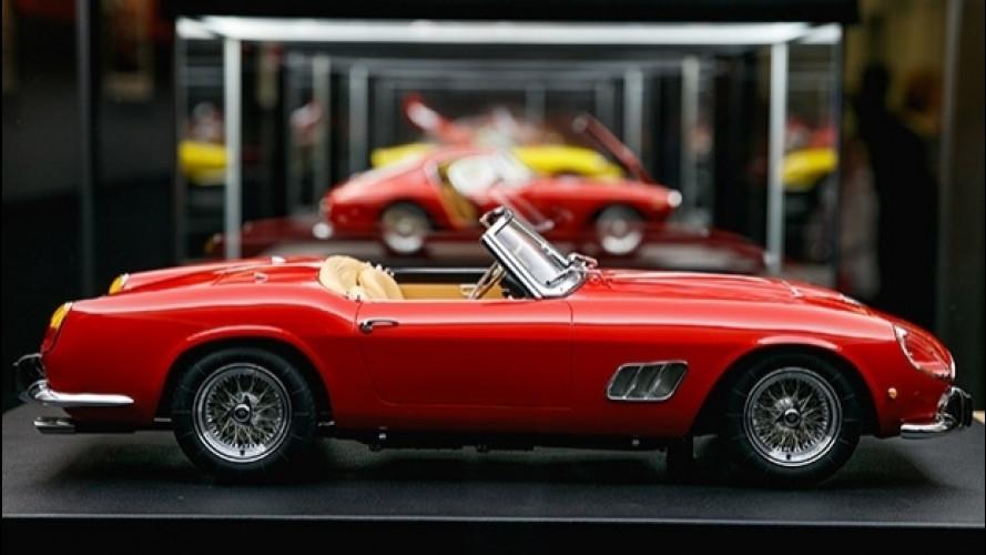 Ferrari Store di Roma, piccoli tesori su ruote