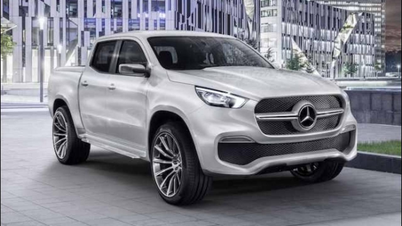 [Copertina] - Mercedes Classe X Concept, il pick-up diventa premium