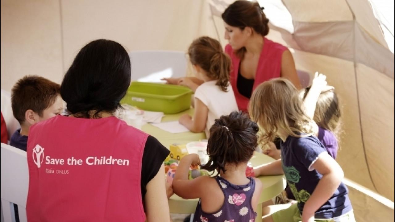[Copertina] - Terremoto Centro Italia, BMW dona 500.000 euro a Save the Children