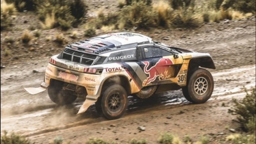 Speciale Peugeot 3008 DKR alla Dakar 2017