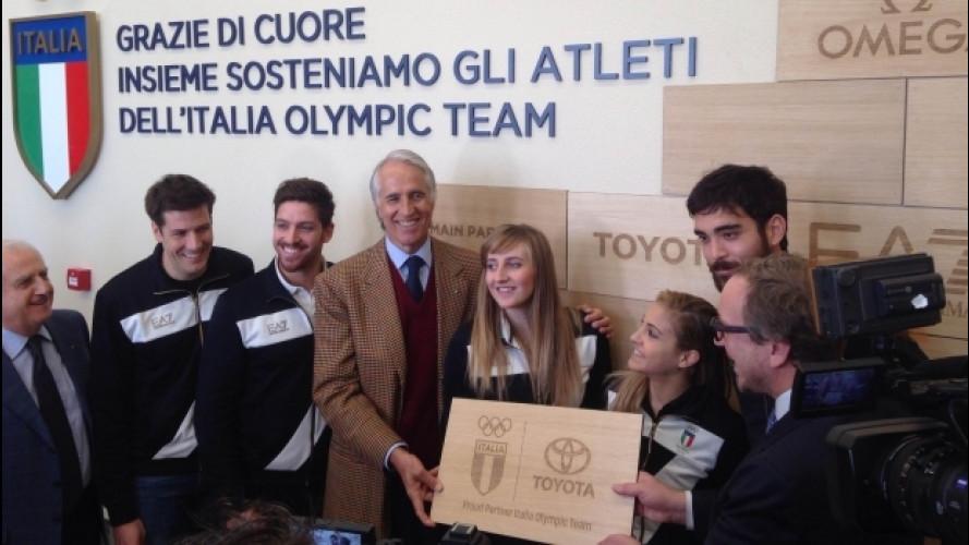 Toyota è Partner ufficiale del Comitato Olimpico